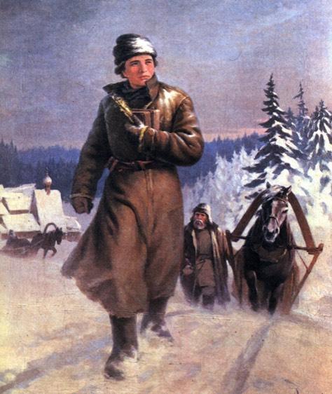 Колоритный образ великого русского ученого михаила ломоносова (1711-1765) и сотни лет